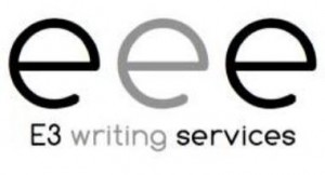 Logo - E3 Writing Services.